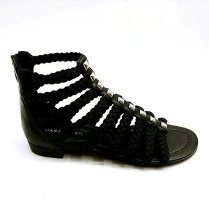 Marc Fisher Pepita Braid Gladiator Sandal 6 New